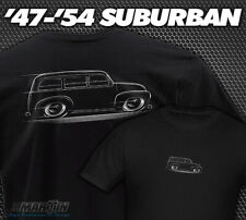 47-54 Chevy / GMC Suburban T-Shirt Chevrolet 1947 1948 1949 1950 1951 1952 1953