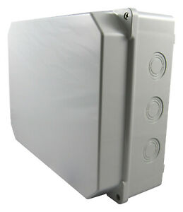 Schaltkasten Leergehäuse Verteilerkasten Industriegehäuse 260x350x125/155mm IP65