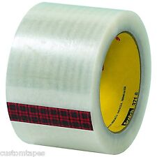 """BOX BT905371 3M 371 Carton Sealing Tape, 3"""" x 110 yd., Clear (Pack of 24)"""