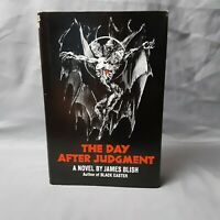 JAMES BLISH - The Day After Judgement - Hardcover First Edition 1971 Dustjacket