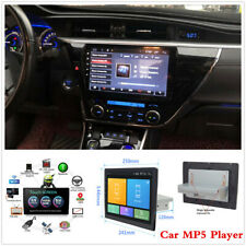"""Single 1-Din Car Bluetooth MP5 Media Player 10.1"""" HD Touch Screen Stereo Radio"""
