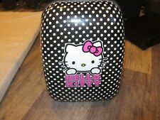 Hello Kitty Hard Shell Rolling Suitcase | Girls Luggage polka dot design