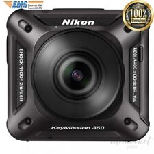 Nikon Waterproof Action Camera KeyMission 360 BK Black Camera KM360BK from JAPAN