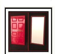 """Elizabeth Arden High Shine ''Red Door"""" Travel Pocket Mirror"""