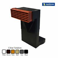Telescopic Adjustable Underfloor Cavity Wall Vents with Airbricks & Extensions