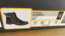 black Caterpillar boots Size 11 New in box