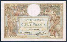 FRANCE - 100 FRANCS L.O MERSON Fay n° 25.35 du 1=12=1938.BN en TTB M.62537 478