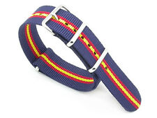 Quality NATO G10 Military Watch Strap - Royal Anglian Regiment By Newmark