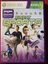 Kinect Sports (Microsoft XBOX 360) Complete W/Manual Tested Working