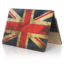 """Retro Union Jack Flag Hard Cover Case For 12"""" Retina Macbook 2015 A1534"""