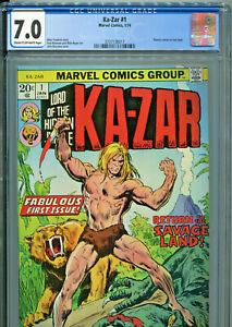 Ka-Zar #1 (Marvel 1974) CGC Certified 7.0