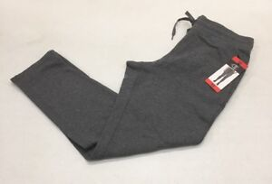 NWT CHAMPION Women's French Terry Pants Lead Charcoal Size MEDIUM NEW