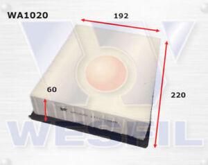WESFIL AIR FILTER WA1020 / A1411