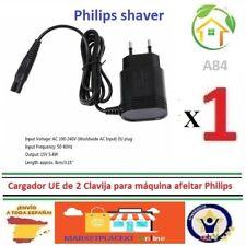 Cargador UE 2 Clavija para máquina afeitar Philips 8505/6070/6075/6090 BRAUN A84