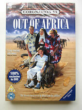 CORONATION STREET - OUT OF AFRICA DVD - REGION 2 - BRAND NEW AND UNOPENED