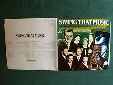 SWING THAT MUSIC - 2 LP set 1985 GATEFOLD 32 tracks SCANA 80006 andrews sisters