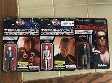 Set Of 3 Terminator ReAction Figures