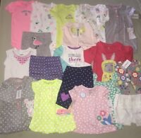Baby Girls Carter's Lot Size 9 M Months Clothes 18 Pc Outfits Sets Pants Top Nwt