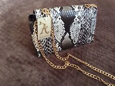 MONSOON ACCESSORIZE  SNAKE SKIN ACROSS BODY  BAG HAND BAG NEW