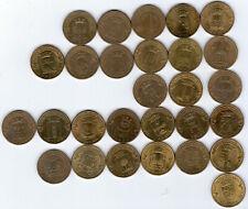 Russland 40 x 10 Rubel Münzen 2010 - 2018 Städte militärischen Ruhms und andere