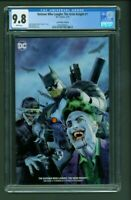Batman Who Laughs: The Grim Knight 1 CGC 9.8 Comic Mint Edition B Mayhew Variant