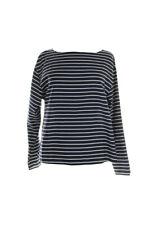Lauren Ralph Lauren New Navy Combo Striped Top S