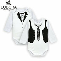 Baby Bodysuit 0-12 Months Clothing For Boys Cotton Long Sleeve Newborn Infant