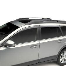 2010-2014 Subaru Outback OEM Side Window Deflectors Vent Visors E3610AJ200 NEW