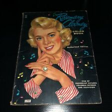 1950's Vintage Rosemary Clooney COLORING BOOK w/ Paper Dolls & Clothing