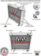 68 - 73 Plymouth Valiant / 70 - 73 Duster Champion 3 Row Aluminum Radiator CC527