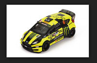 Ford Fiesta RS WRC Winner Rally Monza 2016 V.Rossi 1/43 RAM320 Ixo Models