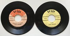 Set of 2 Separate 45 Records by Little Richard - Trip Label Records