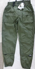 Alitta bikers pants elastic waist 32 to 42 inseam 32 xxl green cycling padded