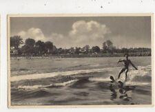 Badeliv i Vedboek Denmark 1953 Postcard 947a