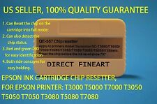 Epson Ink cartridge chip resetter reset T3000 T5000 T7000 T3270 T5270 tank zz