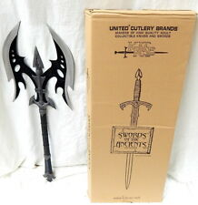 United Cutlery Kit Rae Black Legion Battle Ax Sword Of The Ancients Collection