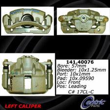 Centric 141.40076 Disc Brake Caliper Semi-Loaded Caliper Front Left Reman