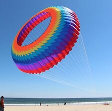 High quality 2018 Hot 3D Dia 10m Ring Kite Spinning Crown
