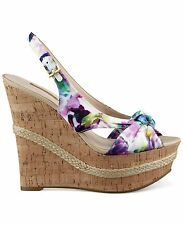 Guess Delilan Wedge Sandal 8.5