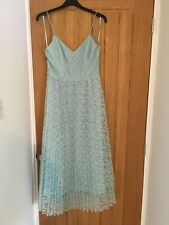 New Look Mint Green Lace Strappy Dress Size 10 Brand New With Tags