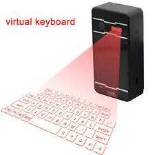 Bluetooth Virtual Laser Projection Wireless Keyboard For Mobile Phone PC Laptop