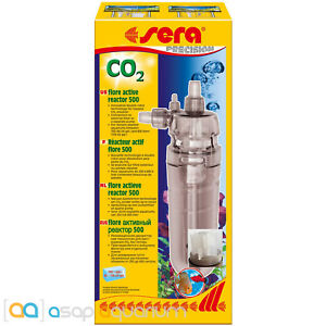 Sera Flore 500 CO2 Reactor for Freshwater Planted Aquariums Carbon Dioxide