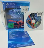 BattleZone Battle Zone VR Sony PlayStation 4 PS4 Spiel PSVR Game PAL CiB NEU