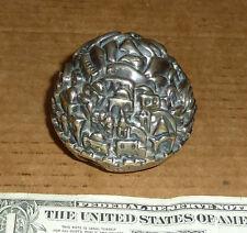 New listing Vintage Sterling Silver Clad,925 Model of Jerusalem,Old Souvenir of Israel,Signe