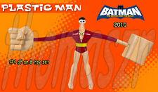 PLASTIC MAN toy figure #4 BATMAN The BRAVE & THE BOLD  McD / WB / DC (2010) NIOP