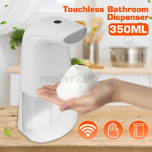 Automatic Soap Dispenser Touchless Foam Soap Hand Washer Infrared Sensor 350ml