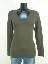 MARC O'POLO PULLOVER GR XS / BRAUN & TREND - CHIC    ( O 0916 )