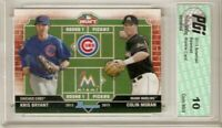 2013 Bowman Dual Draft Picks Rookie Card #DB-BM Kris Bryant PGI 10