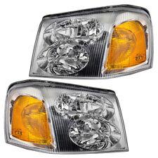 GMC Envoy / XL  & XUV Set of Headlights