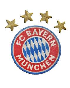 FC Bayern Munchen Munich Patch Iron On Player Version Crest Badge Bundesliga